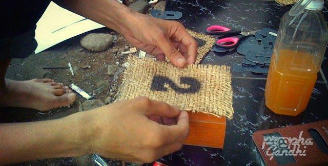 garasibabaeh - DIY membuat sendiri nomer meja