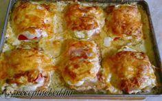 Rakott csirkemell recept fotóval