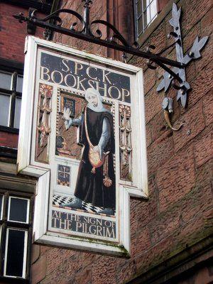 S.P.C.K. Bookshop at the sign of the pilgrim - Carlisle