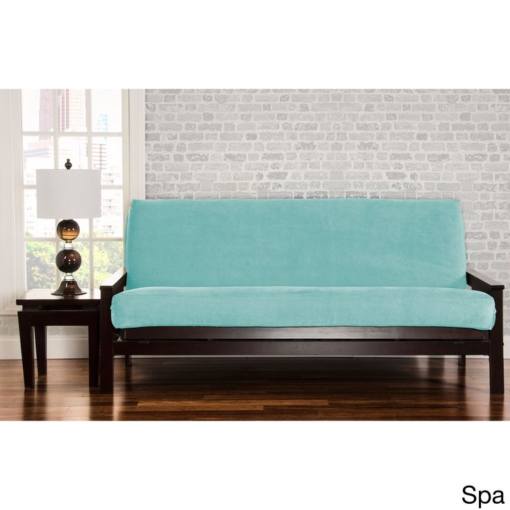 Siscovers Padma Futon Cover Aubergine Full Size Solid