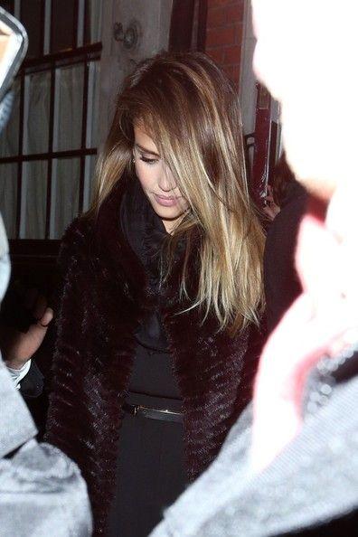 Jessica Alba - Hair Envy... Hmm start to go blonde again?
