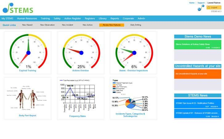Stems is your complete health & safety management software. Manage your safety & compliance information effectively.