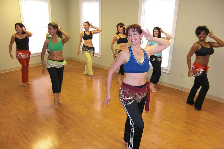 Belly Dancing Lesson.. Loving my new passion. Even if my hips don't lie like Shikara's it still is a great feeling when I am done.