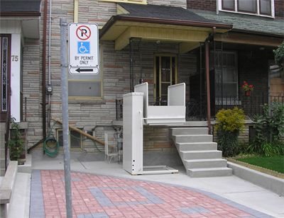 31 best Wheelchair Lifts images on Pinterest | Commercial ...
