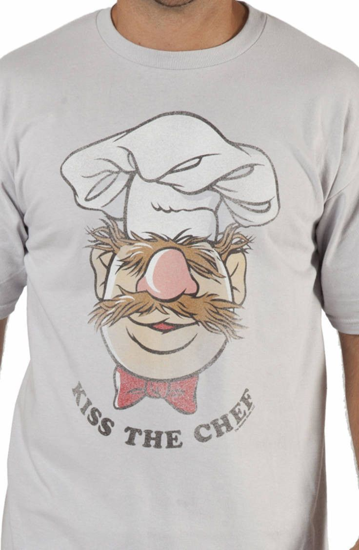 Kiss the Chef Muppets Swedish Chef T-Shirt