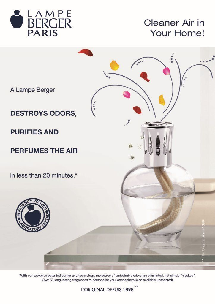 Lampe Berger - Available at Trunk Shows Boutique ~ Pittsburgh, PA ~ Call 412.833.6467