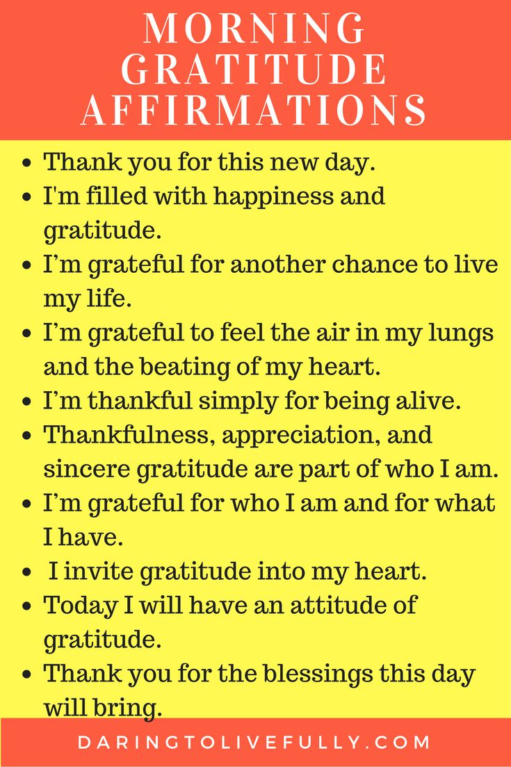 Here are 10 gratitude affirmations to start your morning off right. Affirmations, self-love. Inspiring resources, building confidence, self development, personal development, mindset tips, spiritual growth, live your purpose.