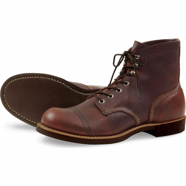 Red Wing 8111 Iron Ranger Boots - FREE SHIPPING TO UK & EU