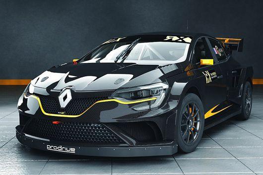 プロドライブは、2018年にルノー メガーヌ RXで世界ラリークロス選手権で参戦する。プロドライブは、2リッター ターボエンジンを含めてマシン...