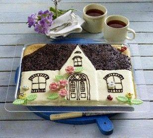 Blechkuchen zum Einzug -Friesenhaus- Rezept