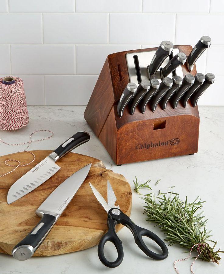 Calphalon Precision SharpIN Self Sharpening 15-Pc. Cutlery Set
