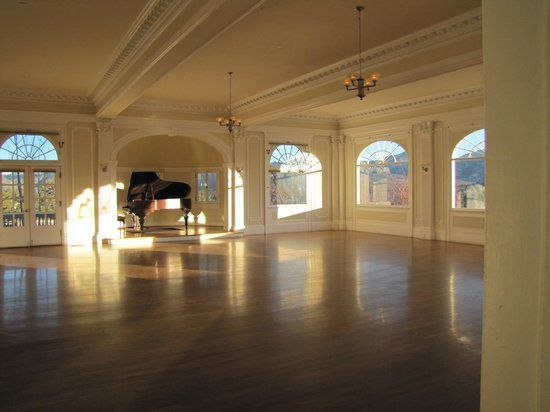 Music Room at the Stanley Hotel. Wouldn't this be a gorgeous place ...