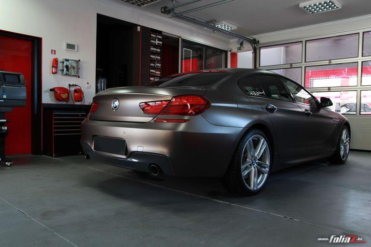 Matte Paint protection film - BMW 6  coupe
