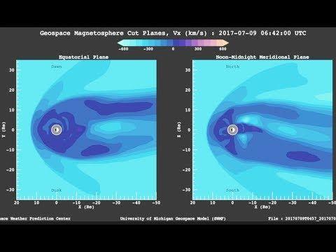 Solar Storm Shockwave, Explosion, Solar Flare   S0 News July.9.2017 https://youtu.be/bR74njVaTeY via @YouTube