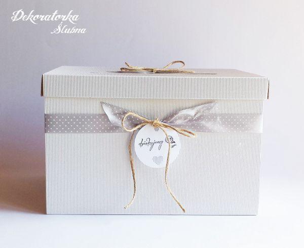 Madame Allure - Pudełko na kartki ślubne