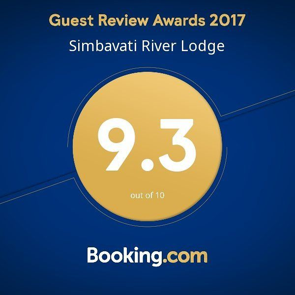 Thank you to all our happy guests who made this possible. Our passion commitment and hard work earned us a 2017 Guest Review Award! . . . #GuestsLoveUs #Simbavati #Safari