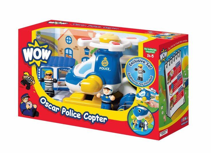 WOW Oscar Police Copter