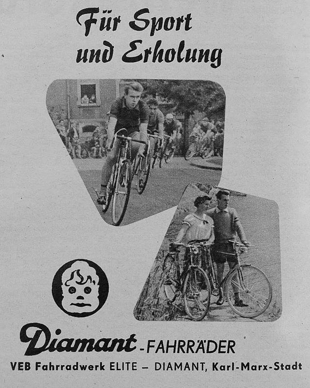 Das Erste Diamant Fahrrad Aus Serienproduktion Wurde 1895