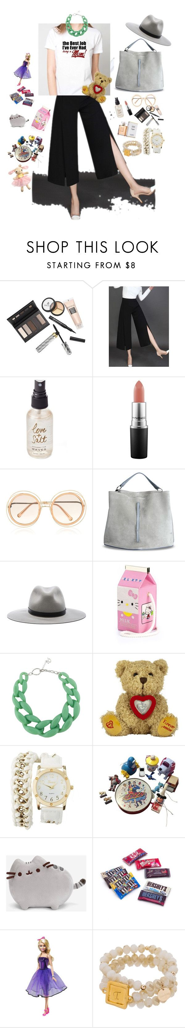 """""""best job ever#summerhats"""" by hellgirl ❤ liked on Polyvore featuring Borghese, Olivine, MAC Cosmetics, Chloé, Maison Margiela, rag & bone, Olympia Le-Tan, DIANA BROUSSARD, Charlotte Russe and Pusheen"""
