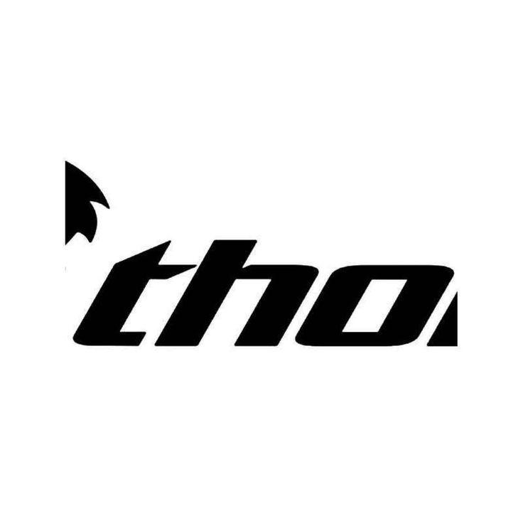 Thor Motocross Logo 2 Vinyl Decal Sticker  BallzBeatz . com