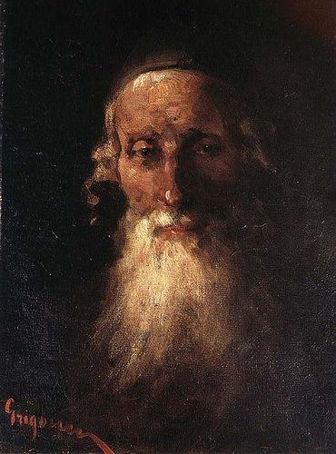 Grigorescu, Nicolae (1838-1907) - The Usurer (Cluj Art Museum, Romania)