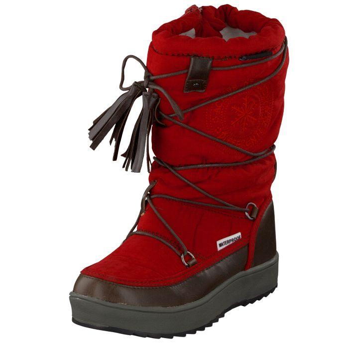 ESKIMO MARKO II KIDS RED fra Footway. Om denne nettbutikken: http://nettbutikknytt.no/footway/
