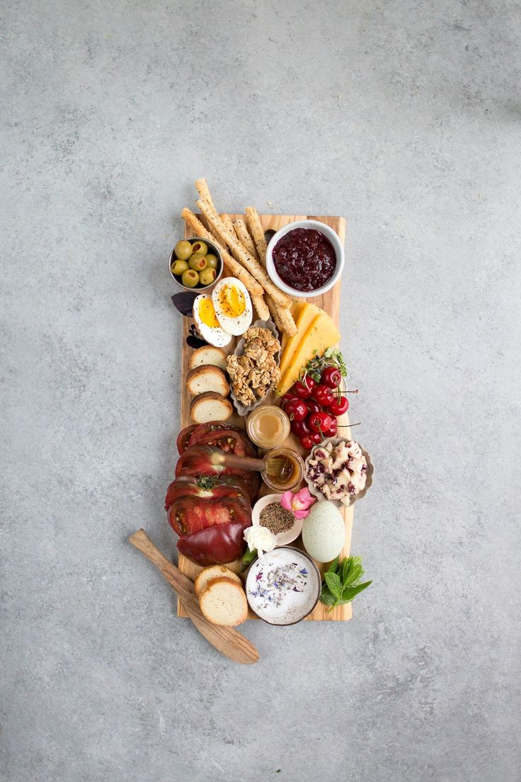 Anything-Goes Breakfast Cheese Board