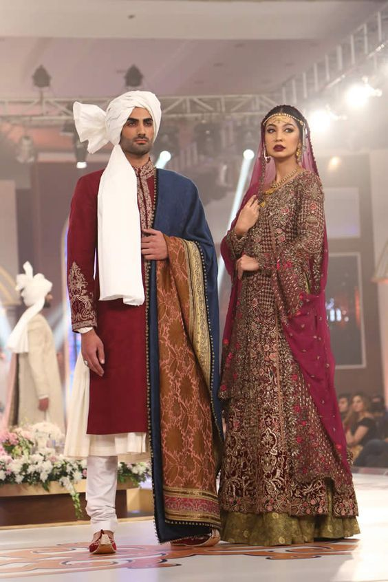 GULNAR MANZIL Collection By Fahad Hussayn at TBCW 2015: