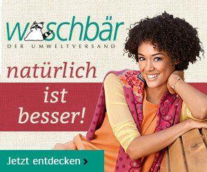 Waschbär Umweltversand - Jubiläums-Newsletter Jetzt anmelden und die nächste Bestellung portofrei* erhalten !