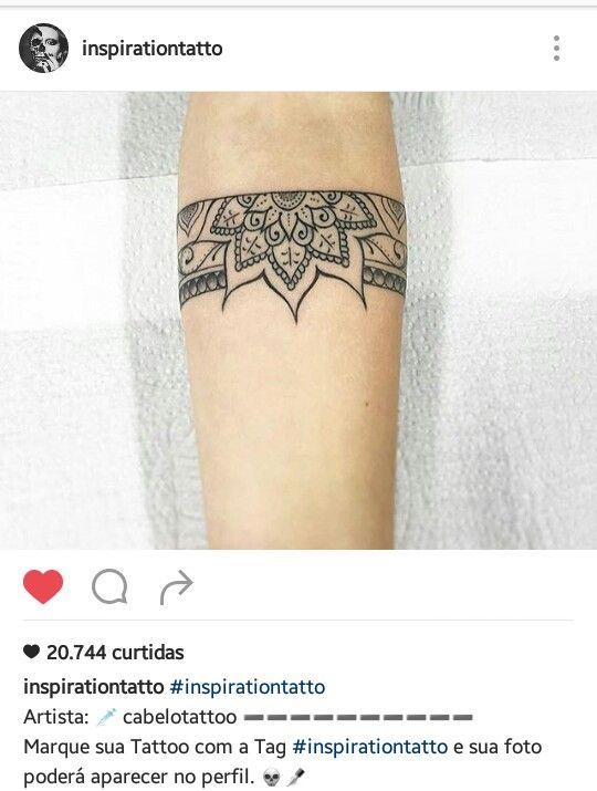 Tattoo bracelete mandala                                                                                                                                                                                 More