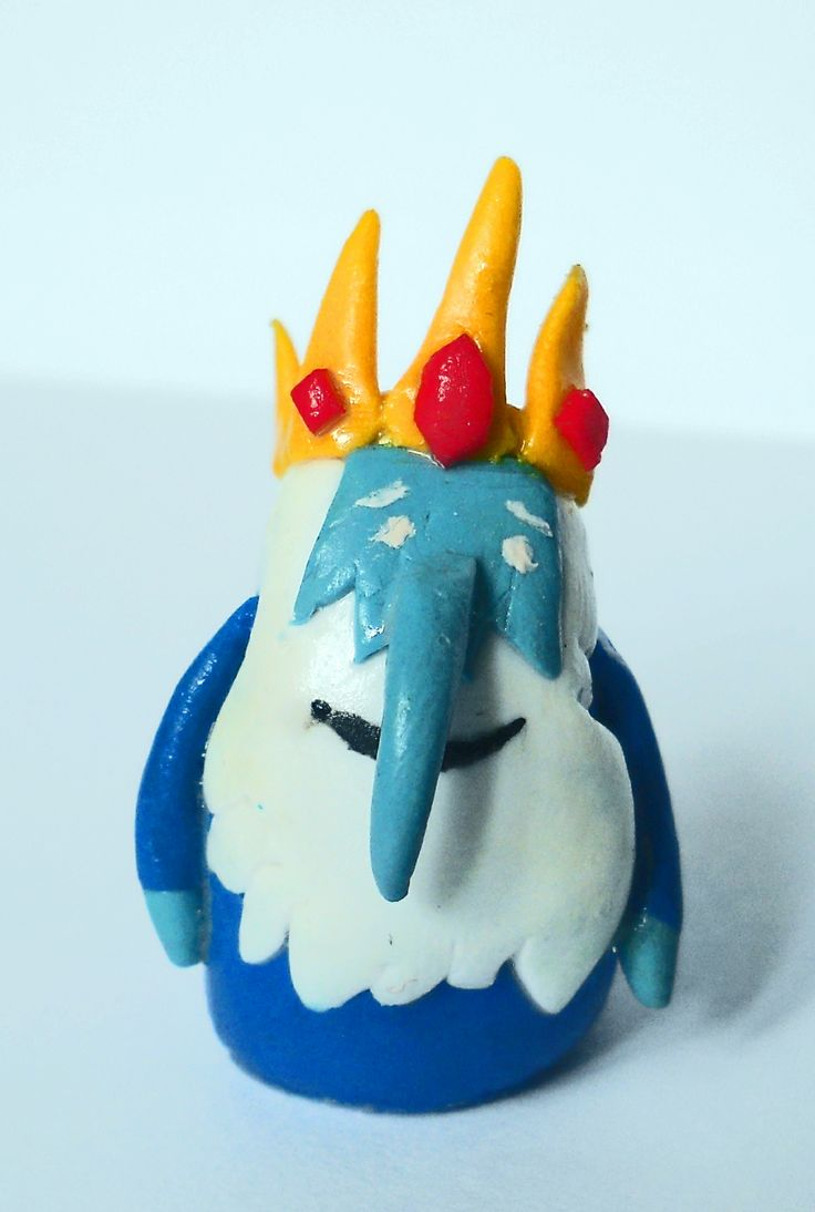 The Ice King from polimer clay