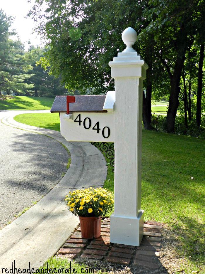 Pretty Mailbox