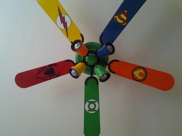 Superhero Fan Super Hero Toddler Room Decor Ideas