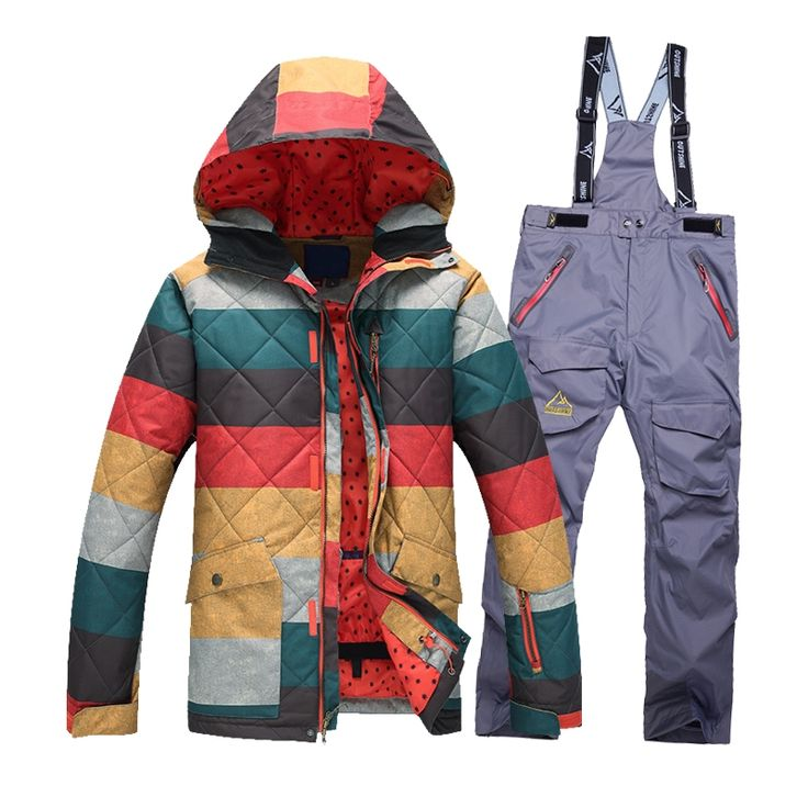 160.00$  Watch here - http://ali7o7.worldwells.pw/go.php?t=32730818852 - New Ski Jacket Men Waterproof Winter Snow Jacket + pants Thermal Coat Outdoor Mountain Skiing Snowboard Jacket ski suit 160.00$