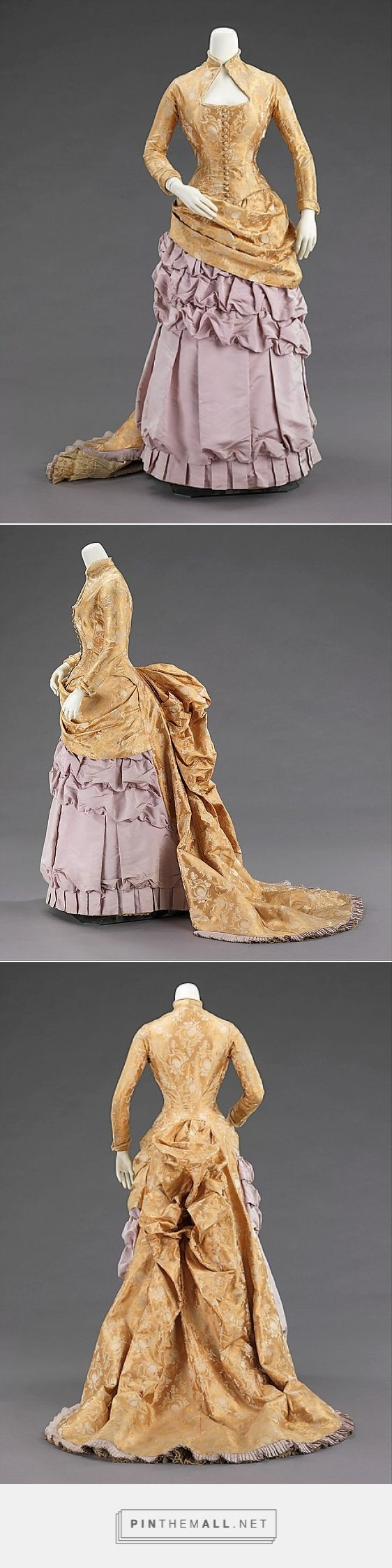 Evening dress by Wexler & Abraham ca. 1880 American | The Metropolitan Museum of Art