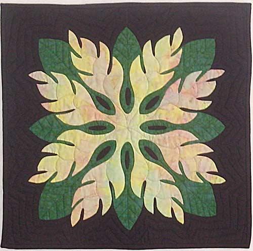 Heliconia in green, by Keri Duke