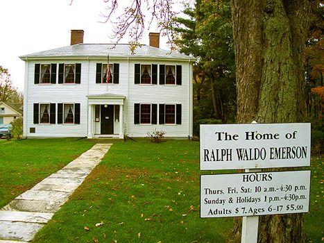 Autumn in Concord, Massachusetts : Home of Ralph Waldo Emerson