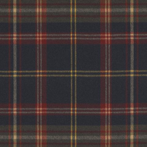 Wightwick Plaid - Navy/Prep - Plaids - Fabric - Products - Ralph Lauren Home - RalphLaurenHome.com