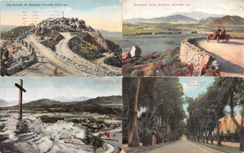 Lot-of-8-Early-Vintage-Riverside-California-Early-1900s-Postcards-41086