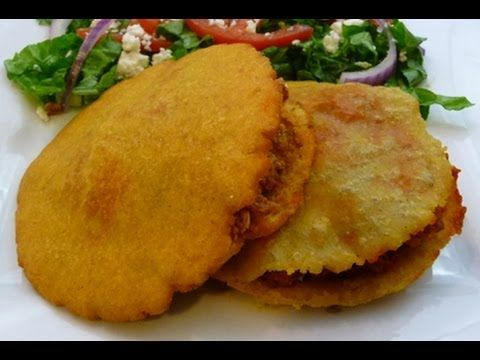 Great Fried (Puffed-up) Gorditas, Mexican Recipe, how to Mexican food, ,
