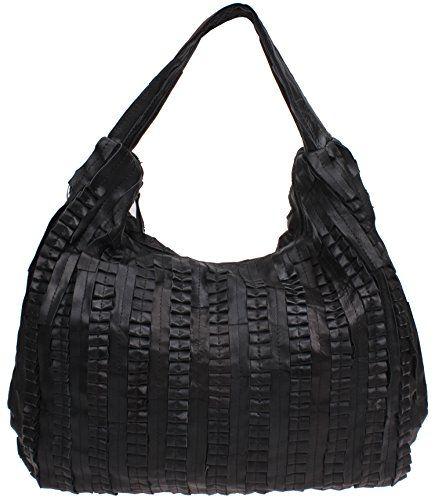 Iblue Women Leather Tote Handbag