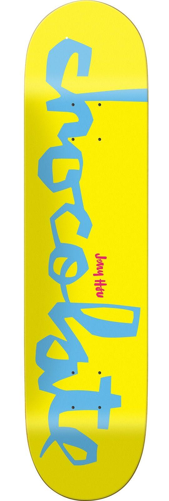 Chocolate Skateboards Jerry Hsu OG Chunk Skateboard Deck