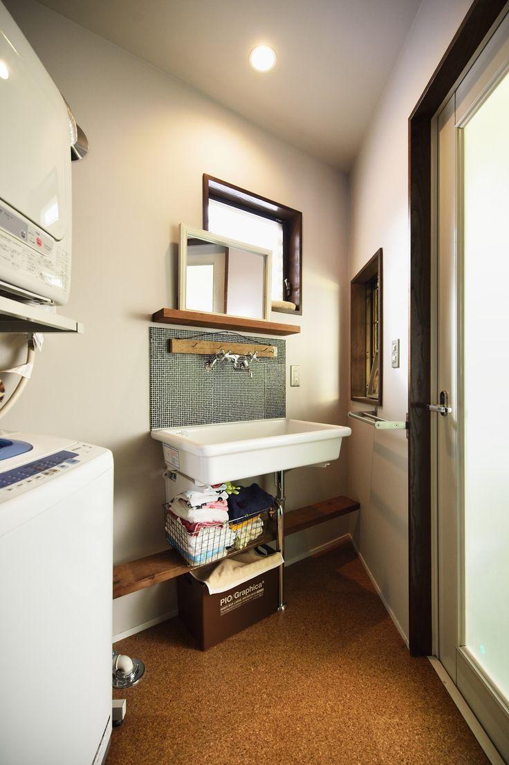 リフォーム・リノベーションの事例|洗面 造作|施工事例No.479家族で語り合う、アメリカンカフェスタイル|スタイル工房