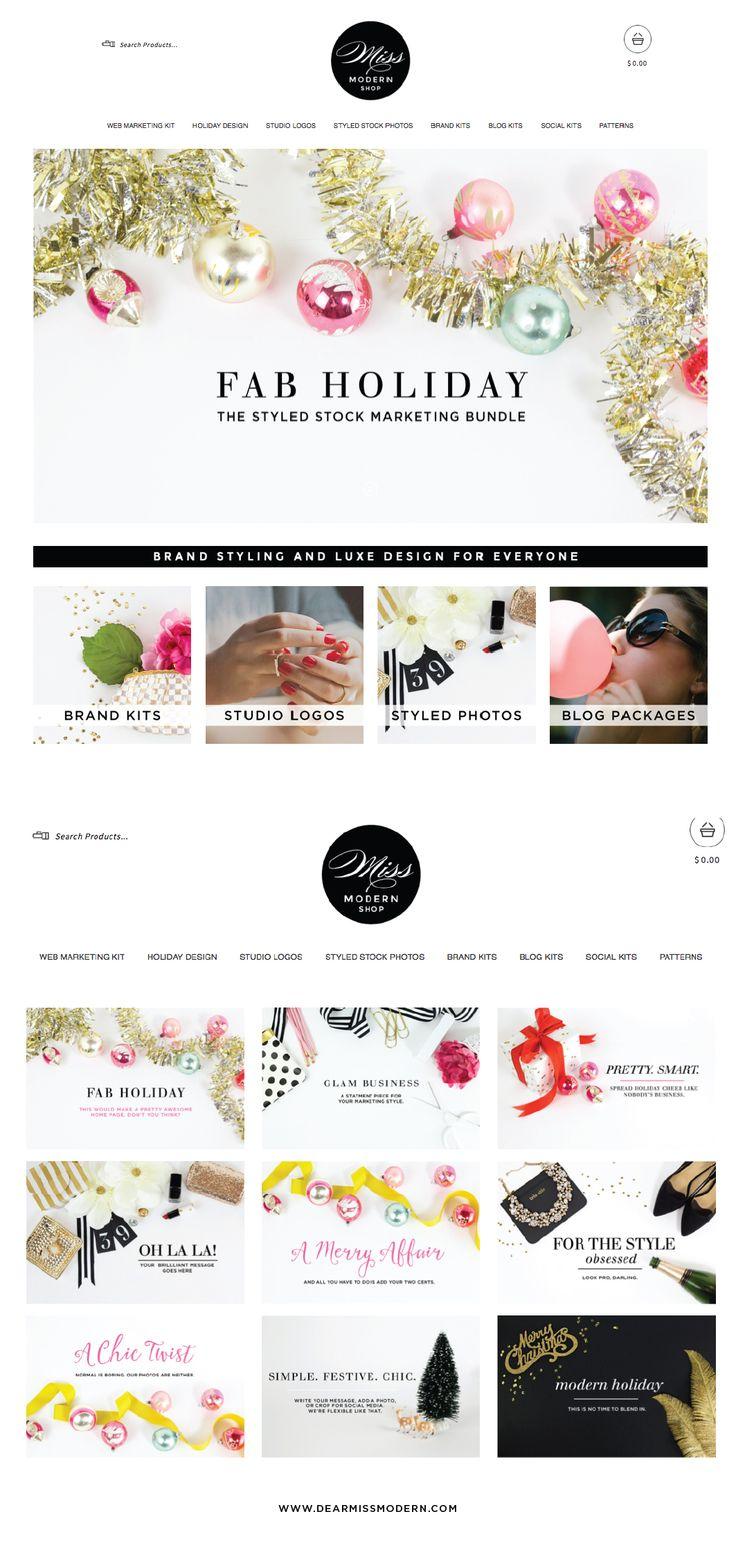 Logo Design, Branding, Styled Stock Photography, Blog Design, Marketing Sets, Social Media. For the Pretty Smart Business Owner. Miss Modern Design Shop: www.dearmissmodern.com