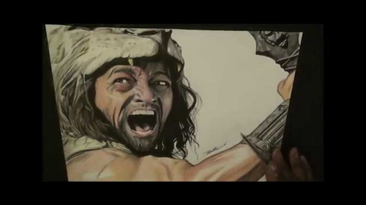 Speed Pen Drawing Of Hercules 2014 - Freehand Art