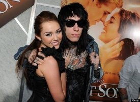 Miley Cyrus And Trace Cyrus