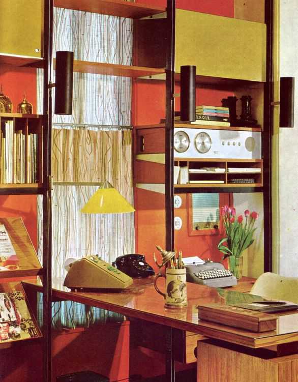 73 best Interiors of the Fifties Sixties Seventies images on