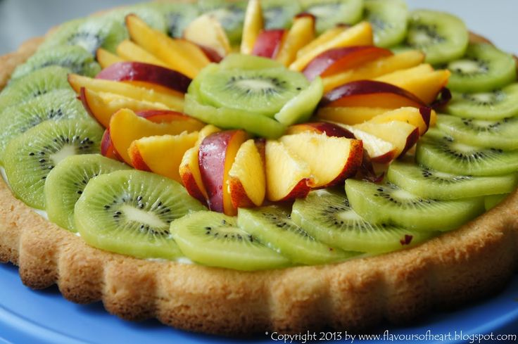#fruit #tart with #vanilla #cream cheese