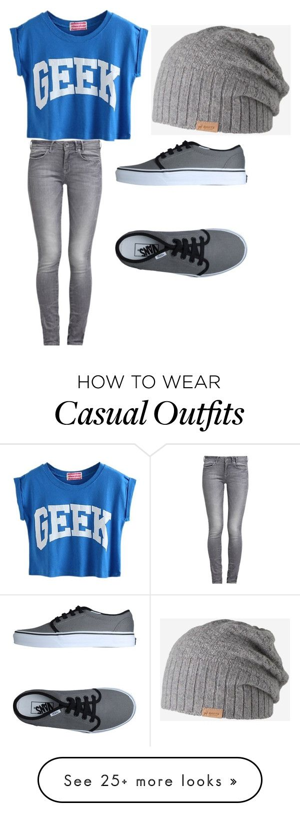 """casual"" by soccerstarfbi on Polyvore featuring Vans, GUESS and Barts"