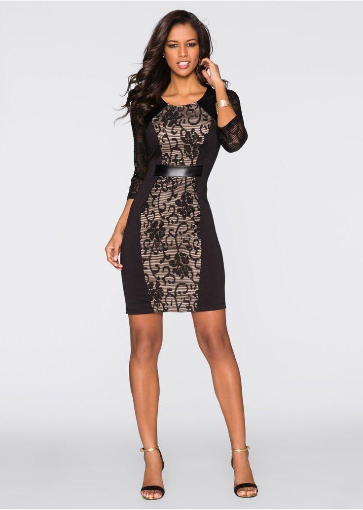 Šaty s 3/4 rukávmi Pekné šaty na • 34.99 € • bonprix